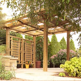 Made-in-the-shade Pergola
