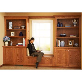 Design and Install Built-In Bookcases Downloadable Plan