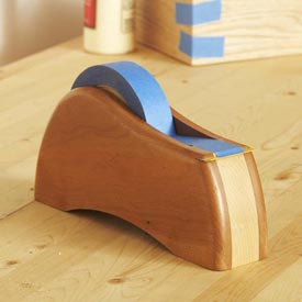 Tape Dispenser Woodworking Plan, Gifts & Decorations Office Accessories Workshop & Jigs Hand Tools Workshop & Jigs $2 Shop Plans