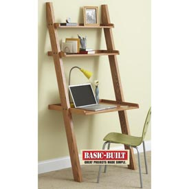 Knockdown Wall Desk Downloadable Plan