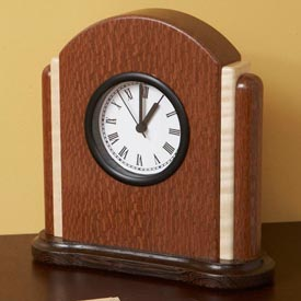Art Deco Clock Woodworking Plan, Gifts & Decorations Clocks