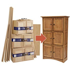 Create Fine Furniture from Stock Cabinets