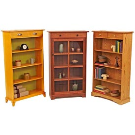 Have-it-your-way Bookcases Downloadable Plan