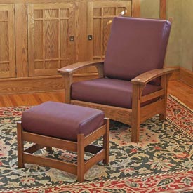 Morris Chair and Ottoman Downloadable Plan