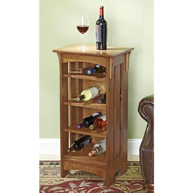 Simple and Tasteful Wine Rack Downloadable Plan