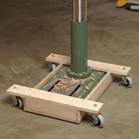 Mobile Drill-press Base