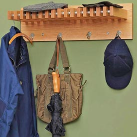 Coat and Hat Hanger Downloadable Plan