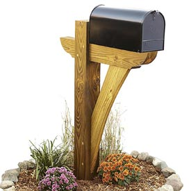 Timber-framed Mailbox Woodworking Plan, Outdoor Outdoor Accessories
