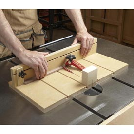 Small-parts Tablesaw Sled Downloadable Plan