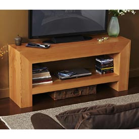 Bold, Beautiful TV Table Woodworking Plan, Furniture Entertainment Centers Furniture Tables