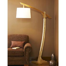 Adjustable-Arm Floor Lamp Downloadable Plan