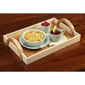 Arch-Handle Serving Tray