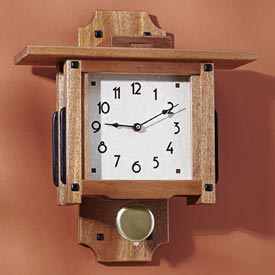 Greene & Greene Wall Clock Downloadable Plan