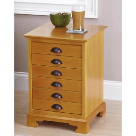 Chairside Chest Woodworking Plan, Furniture Chests Furniture Tables
