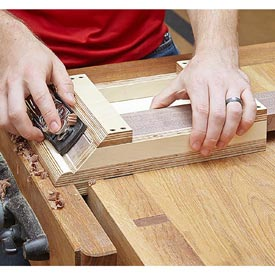 Miter Shooting Board Downloadable Plan