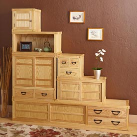 Tansu Cabinet Woodworking Plan, Furniture Cabinets & Storage