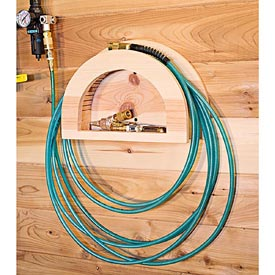 Air Hose Hanger Downloadable Plan