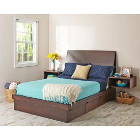 Captain%27s bed with secret storage Woodworking Plan, Furniture, Beds & Bedroom Sets