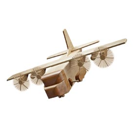 Mil-Spec AC-130 Gunship Woodworking Plan, Toys & Kids Furniture