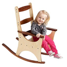 Pint-size Rocking Chair Printed Plan