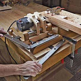 Shop-made Horizontal Mortiser Woodworking Plan, Workshop & Jigs Jigs & Fixtures