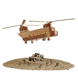 Mil-spec CH-47 Chinook Helicopter Woodworking Plan, Toys & Kids Furniture