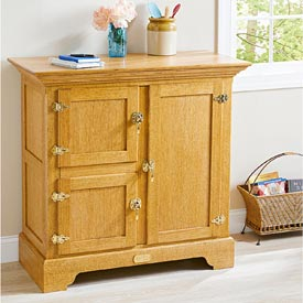 Faux Icebox Chest Woodworking Plan, Furniture Cabinets & Storage