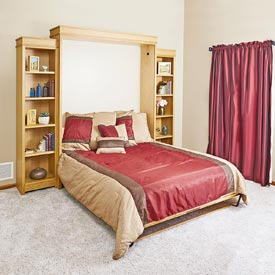 Murphy Bed Woodworking Plan, Furniture Beds & Bedroom Sets