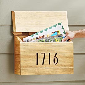 Mailbox Woodworking Plan, Outdoor Outdoor Accessories