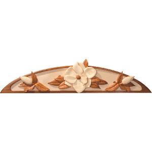 Magnolia Door Top Intarsia Pattern