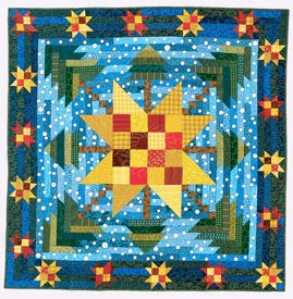 Winter Skies Pattern Wall Quilts Winter Quilts  American Patchwork & Quilting
