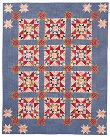 American Toile Pattern Bed Quilts Fourth of July Quilts  American Patchwork & Quilting