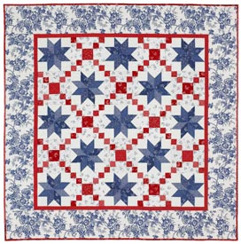 Oh My Stars Pattern Throws Fourth of July Quilts  American Patchwork & Quilting