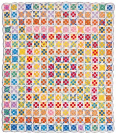 Circle Upon Circle Pattern Throws Spring Quilts  American Patchwork & Quilting