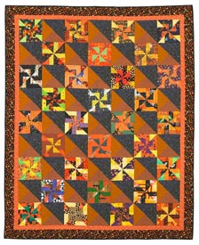 Simply Bewitching Pattern Throws Halloween Quilts  American Patchwork & Quilting