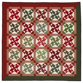 Christmas Remembered Pattern Throws Christmas Quilts  American Patchwork & Quilting