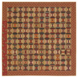 Small Steps Pattern Throws Fall Quilts  American Patchwork & Quilting