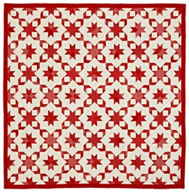 Wrapped in Red Pattern Bed Quilts Christmas Quilts  American Patchwork & Quilting