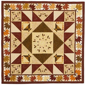 Maple Leaf Farm Pattern Throws Fall Quilts  American Patchwork & Quilting