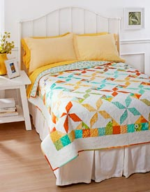 Swirls and Whirls Pattern Bed Quilts Spring Quilts  American Patchwork & Quilting