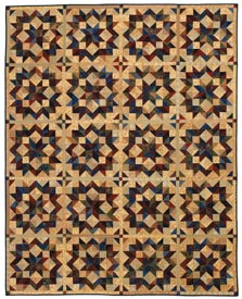 Buggy Wheels Pattern Throws Fall Quilts  American Patchwork & Quilting