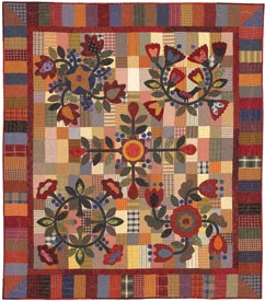 Promise of Spring Pattern Throws Spring Quilts  American Patchwork & Quilting