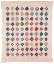 Blue Jeans & Bubble Gum  Pattern Throws   American Patchwork & Quilting