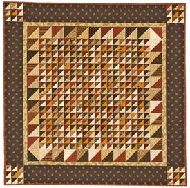 Sew Small Pattern Table Toppers Fall Quilts  American Patchwork & Quilting