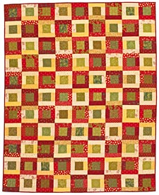 In the Meadow Pattern Throws Christmas Quilts  Quilts and More