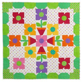 Spring Loaded Pattern Throws Spring Quilts  Quilts and More