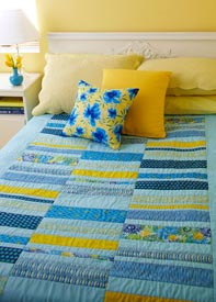 Bar Code Pattern Throws   Quilts and More