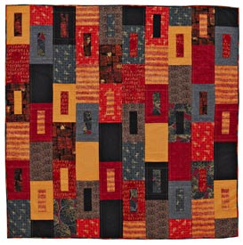 Urban Attitude Pattern Throws   Quilts and More