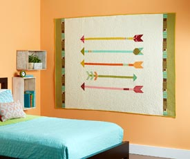 Straight and Arrow Pattern Wall Quilts   Quilts and More