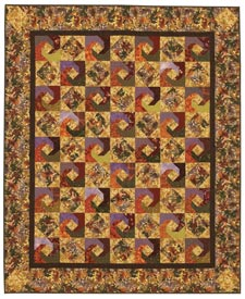 Autumn Trails Pattern Throws Fall Quilts  Quilt Sampler